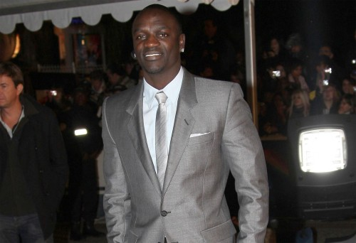 Akon @ The NRJ Awards