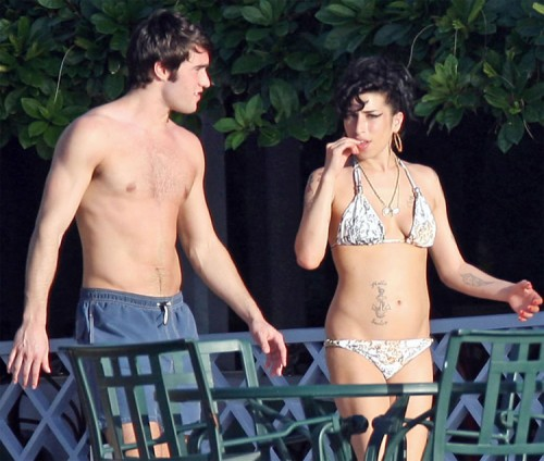 Amy Winehouse & Joshua Bowman