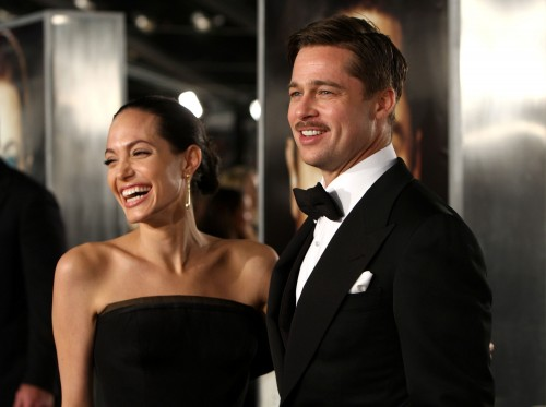 Angelina Jolie & Brad Pitt @ Benjamin Button premiere