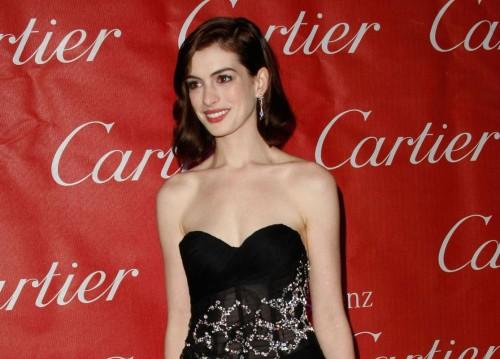 Anne Hathaway @ Cartier