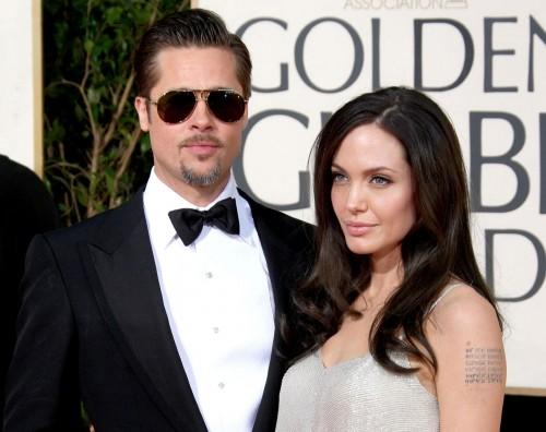 Brad Pitt & Angelina Jolie @ Golden Globes