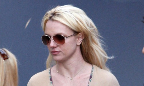 Britney Spears in Hollywood