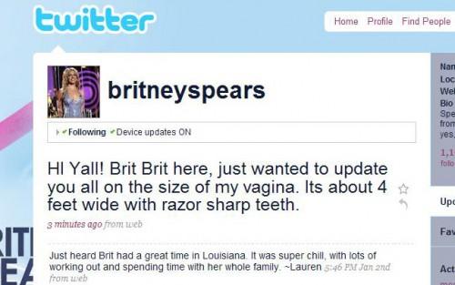 Britne Spears Twitter
