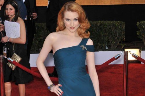 Evan Rachel Wood @ SAG awards