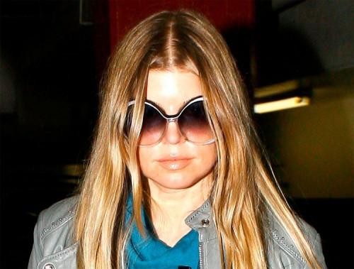 Fergie walks