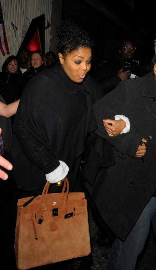 Janet Jackson steps out