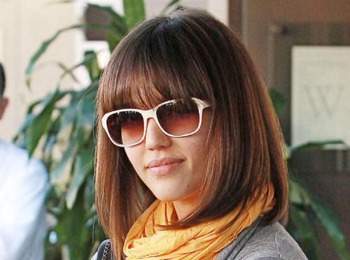 Jessica Alba haircut