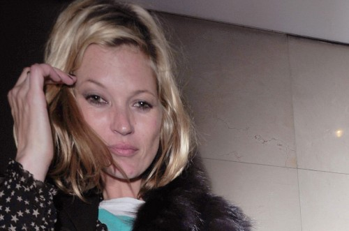 Kate Moss is drunk