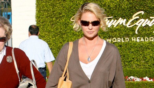 Katherine Heigl and her mother