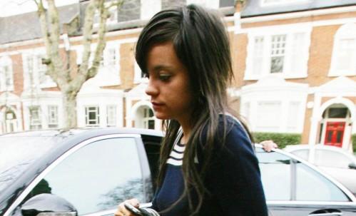 Lily Allen in London