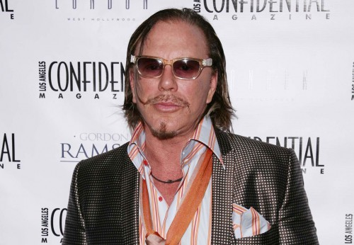 Mickey Rourke @ LA Confidential