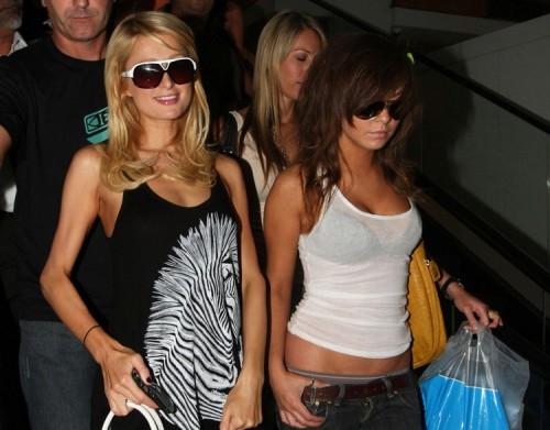 Paris Hilton and BFF