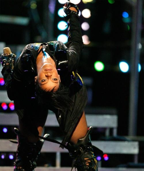Rihanna is bent