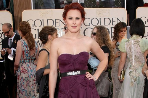 Rumer Willis @ The Golden Globes