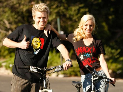 Spencer Pratt & Heidi Montag ride