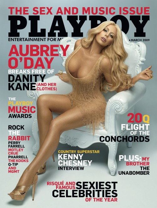 Aubrey O'Day Playboy March