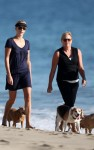 charlize theron beach 02