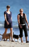 charlize theron beach 06