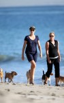 charlize theron beach 08