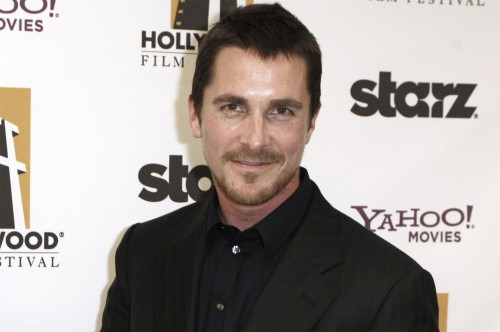 Christian Bale @ Hollywood Awards