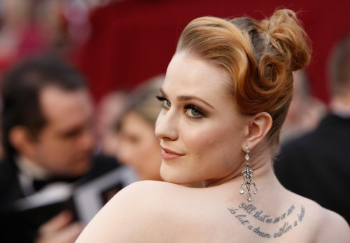 evan rachel wood oscars 04