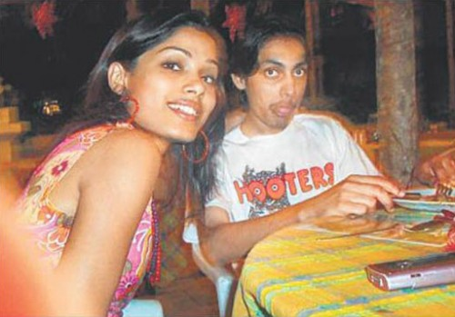 Freida Pinto and her ex