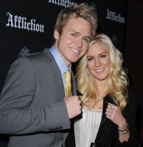 Heidi Montag & Spencer Pratt attend Affliction