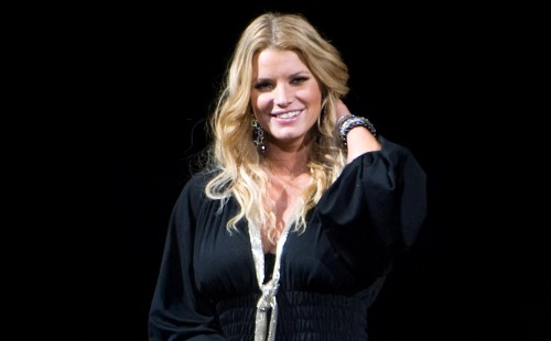 Jessica Simpson @ Madison Square Garden
