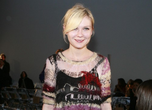 Kirsten Dunst @ Fashion Week