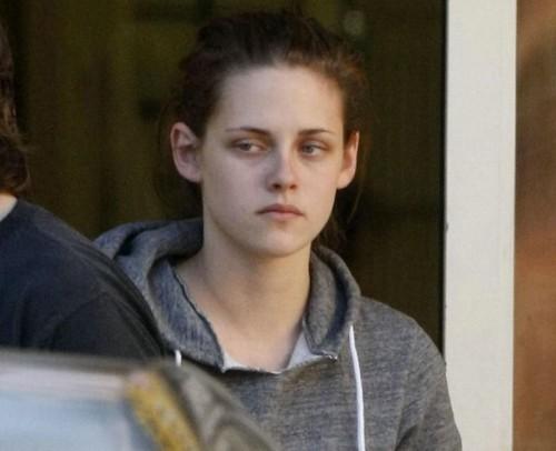 Kristen Stewart is so high, man