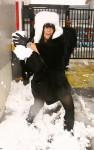 lily allen snow 13