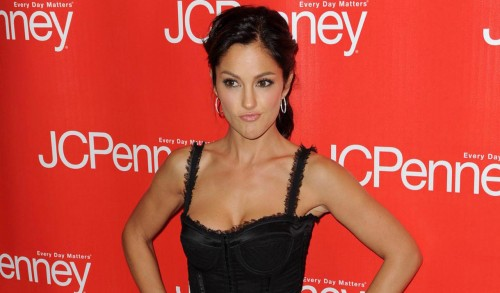 Minka Kelly @ JC Penny event