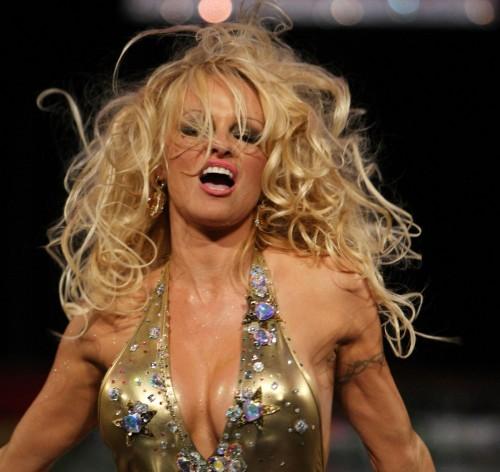 Pamela Anderson @ Richie Rich Fashion Show