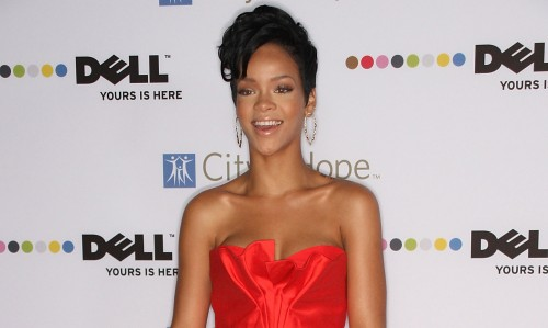 Rihanna during happier times