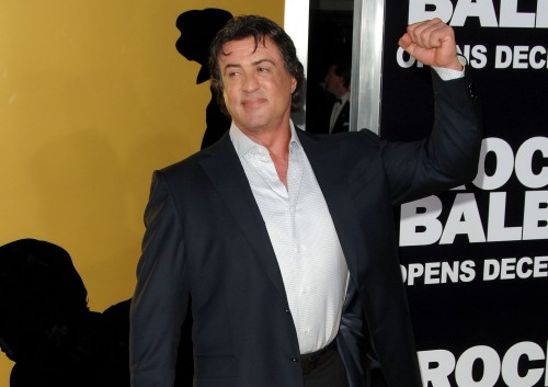 Sylvester Stallone at Rocky
