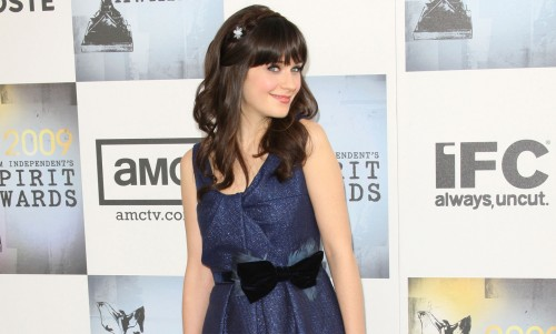 Zooey Deschanel @ The Spirit Awards