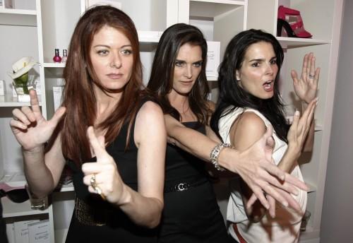 Brooke Shields, Debra Messing, Angie Harmon