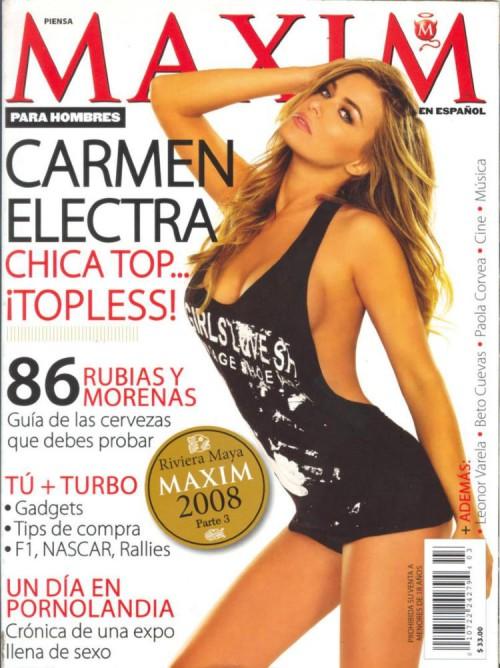 carmen electra maxim mexico 03