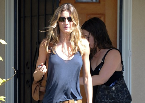Gisele Bundchen out and about