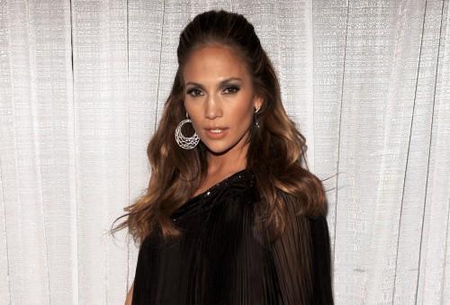 Jennifer Lopez backstage