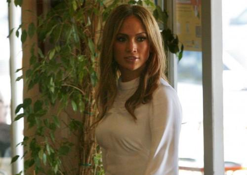 Jennifer Lopez in white
