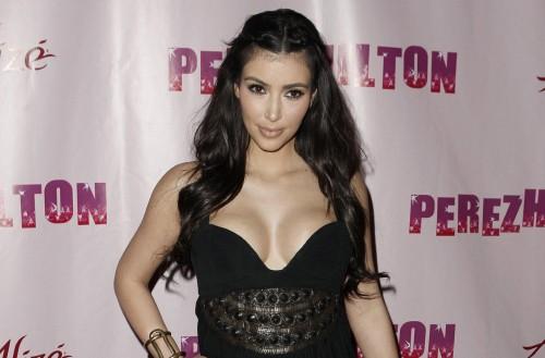 Kim Kardashian @ Perez Hilton bash
