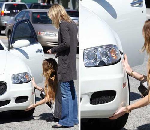 Lindsay Lohan & Maserati