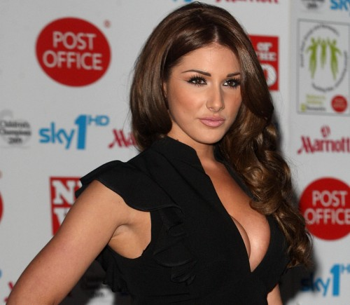 Lucy Pinder gives and gives