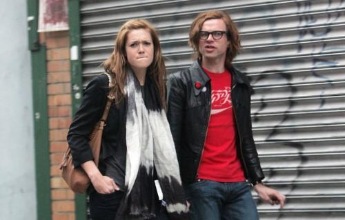 Mandy Moore & Ryan Adams in the West Village