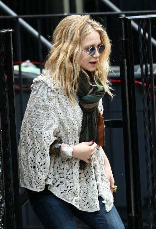 Mary-Kate Olsen in NYC
