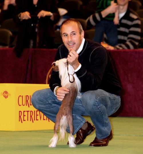 Matt Lauer dog show