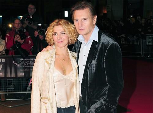Natasha Richardson & Liam Neeson @ Gala