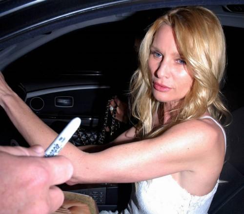 Nicolette Sheridan autographs