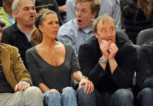 Nikki Cox & Jay Mohr